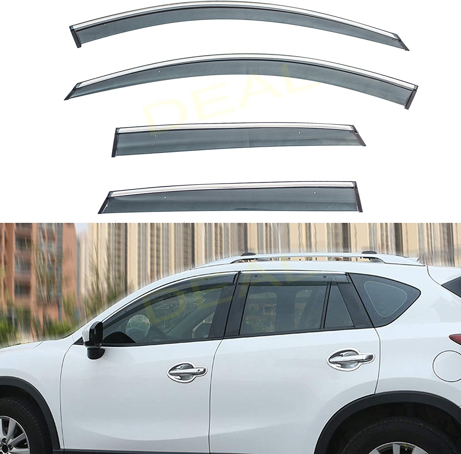 DEAL AUTO ELECTRIC PARTS 4-Piece Set Clip Tape Outside Spring new Brand Cheap Sale Venue work Mount On