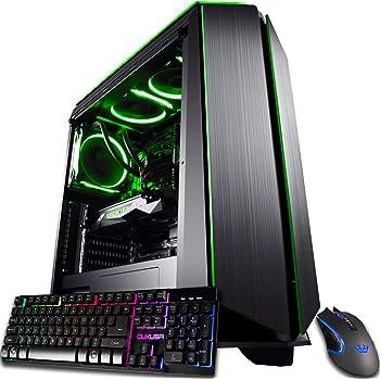 CUK Mantis Custom Gamer PC (AMD Ryzen 9, 128GB RAM, 1TB NVMe SSD + 4TB HDD, NVIDIA GeForce RTX 3090 24GB, 850W Gold PSU, AC WiFi, Windows 10 Home) Tower Gaming Desktop Computer