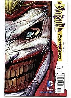 BATGIRL #13-2012-DC-comic book-Death of the Family-Joker cover