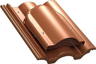 Rubin 13V Dachziegel Entl/üfter Dachl/üfter Entl/üfterkamin DN125 f/ür Braas RAL 7021 - Anthrazit