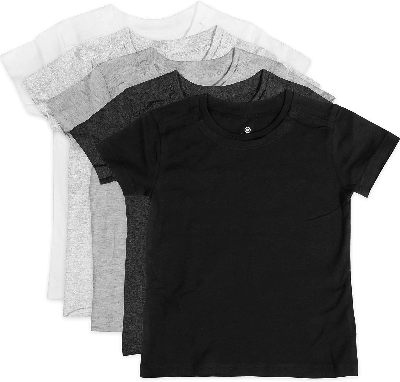 HonestBaby Baby Organic Cotton Short Sleeve T-Shirt Multi-Packs