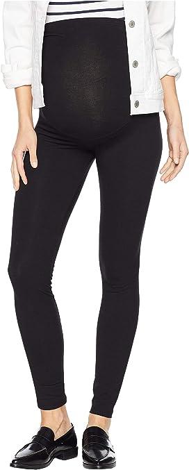 d47e1dc59a Plush Maternity Fleece-Lined Cotton Over-Belly Leggings at Zappos.com
