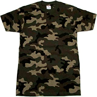 Pro Club Mens 100% Cotton CAMO Short Sleeve T Shirt