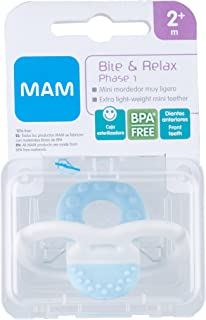 MAM Mordedera Bite & Relax, 2+ Meses, Blue