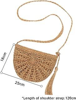 Women shoulder bag Handmade Woven Bohemian Beach Lady hand bag Large capacity Tote