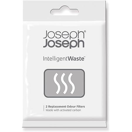 Joseph Joseph - Filtre Anti-odeur Intelligent Waste - Noir