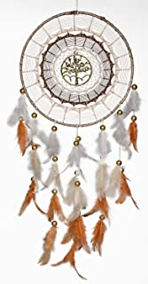 Rooh Dream Catcher ~Gold Tree ~ Handmade Hangings for Positivity (Can be Used as Home Décor Accents, Wall Hangings, Garde...