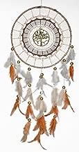 rooh Dream Catcher Healing Tree Handmade Hangings for Positivity (Golden)
