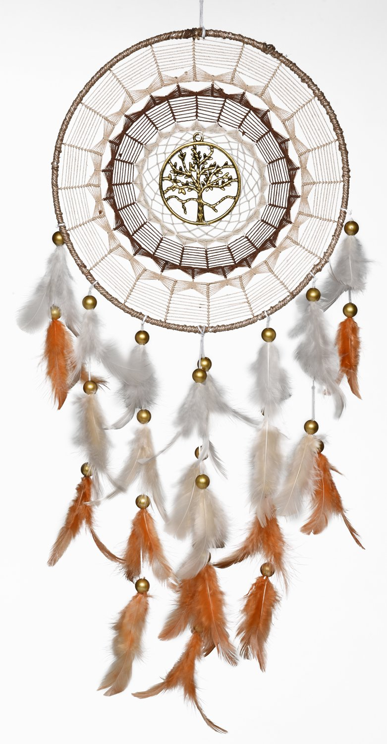 car White Outdoor Garden Rooh Dream Catcher ~ Canvas Angel and Unicorn ~ Handmade hangings for Home Decor Wall hangings Bedroom /â/€/¦