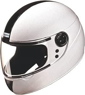 Studds Chrome Elite SUS_CEFFH_WHE Full Face Helmet (White, XS)