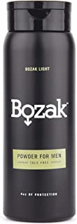 Bozak Body and Foot Powder for Men � Talc Free, Antifungal, Jock Itch Defense, Deodorant, Stops Chafing, Absorbs Sweat, and Keeps Skin Dry (4 oz.)