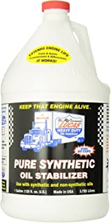 Lucas Oil 10131 Pure Synthetic Oil Stabilizer - 1 Gallon (4 Pack)