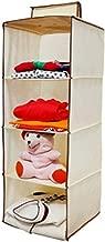 Homecute Hanging Storage Wardrobe/Closet Storage Organizer 4 Layer