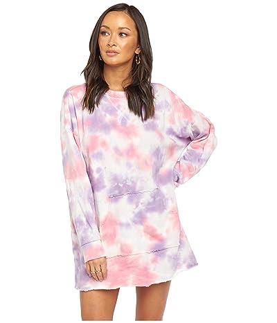 Show Me Your Mumu Sunday Sweatshirt Dress (Candy Tie-Dye) Women