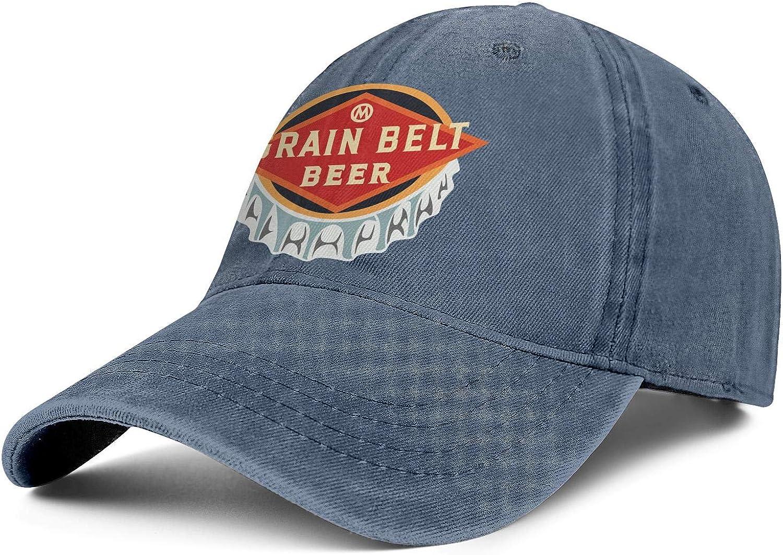 Men Save money Cowboy Cap supreme Grain-Belt- Vintage Baseball Soft Adjustable Hat