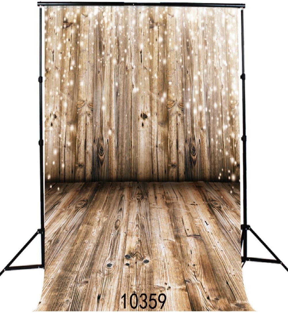 10x15FT Wooden Vinyl Photography Backdrops Photo Studio Background
