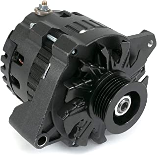 A-Team Performance GM CS130 Style 160 Amp Alternator Compatible with Chevrolet BB V8 Gen. II Mark IV, Gen. V, SB V8 Gen. I. GM Diesel V8, Inline 4 and 6, GM V6, Oldsmobile V8, All Black