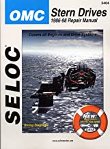 Sierra International Seloc Manual 18-03404 Omc Cobra Stern Drives Repair 1986-1998 Engine & Drive Systems