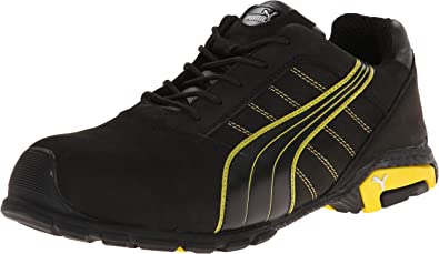 PUMA Safety Amsterdam Low ASTM SD Safety Shoes Safety Toe Static Dissipative Aluminium Toe Cap Slip Resistant Water Resistant Men