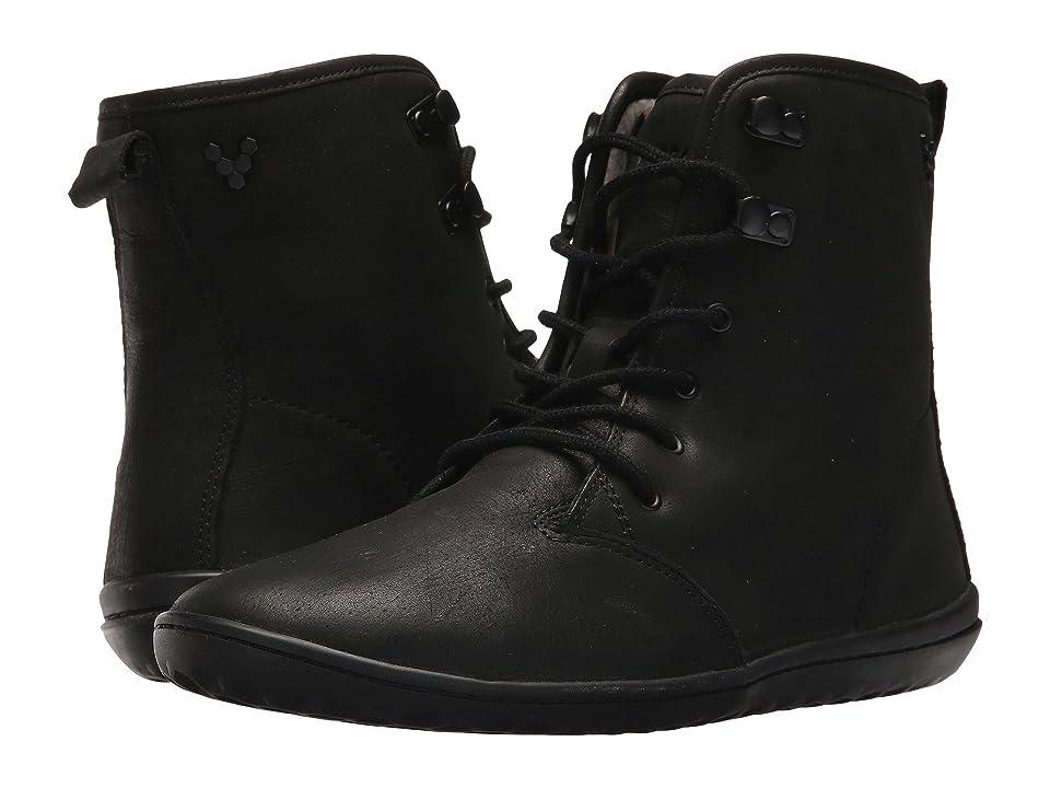 Vivobarefoot Gobi Hi-Top Leather (Black) Women