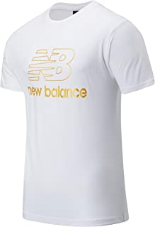 New Balance Men Nb Athletics Podium Tee Top