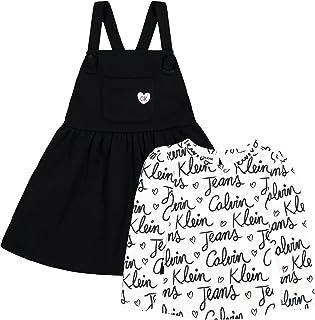 Calvin Klein girls 2 Pieces Jumper Set Casual Dress