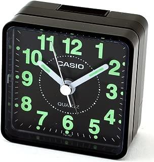 CASIO TQ140 Travel Alarm Clock – Black (Discontinued by Manufacturer)
