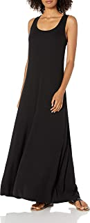 Marchio Amazon - Daily Ritual - Rayon Spandex Fine Rib Maxi Dress, dresses Donna