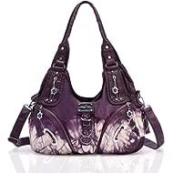 Handbag Hobo Women Bag Roomy Multiple Pockets Street ladies' Shoulder Bag Fashion PU Tote Satchel...