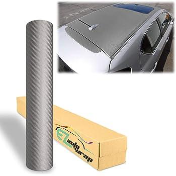 10cm x 20cm EZAUTOWRAP Sample Black 3D Carbon Fiber Textured Matte Car Vinyl Wrap Sticker Decal Film Sheet 4X8 Sample