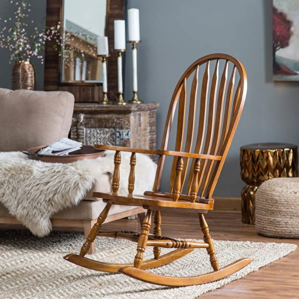 Belham Living Windsor Rocking Chair Oak