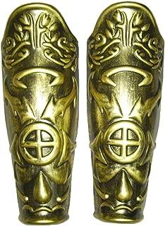 Roman Leg Armor Pair 2 Pieces Gold Greek 23820