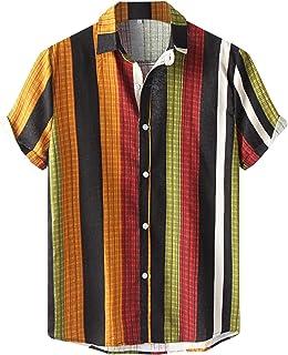 Amazon.es: Plateado - Camisas casual / Camisetas, polos y ...