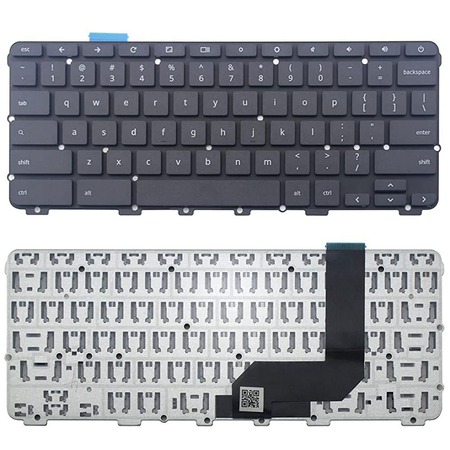 New Replacement for Lenovo Chromebook N22 US Keyboard Black EANL6029010 5CB0L02103 NO Frame