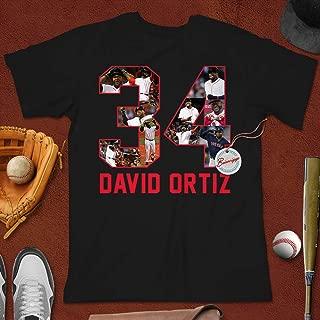 David-34 Baseball Legend Thank You Ortiz Papi Strong Customized Handmade Hoodie/Sweater/Long Sleeve/Tank Top/Premium T-shirt