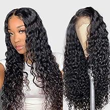 Alibeauty Lace Front Wigs Human Hair For Black Women 150% Density Brazilian Water Wave..