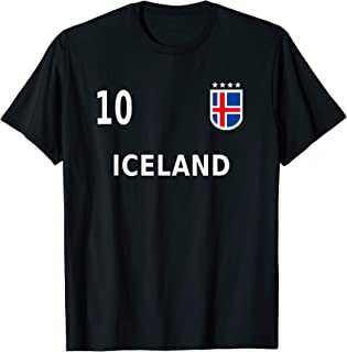 Iceland Soccer Football Fan Jersey 2018 Men, Women & Kids