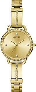 GUESS Womens Quartz Watch, Analog Display And Stainless Steel Strap - GW0022L2
