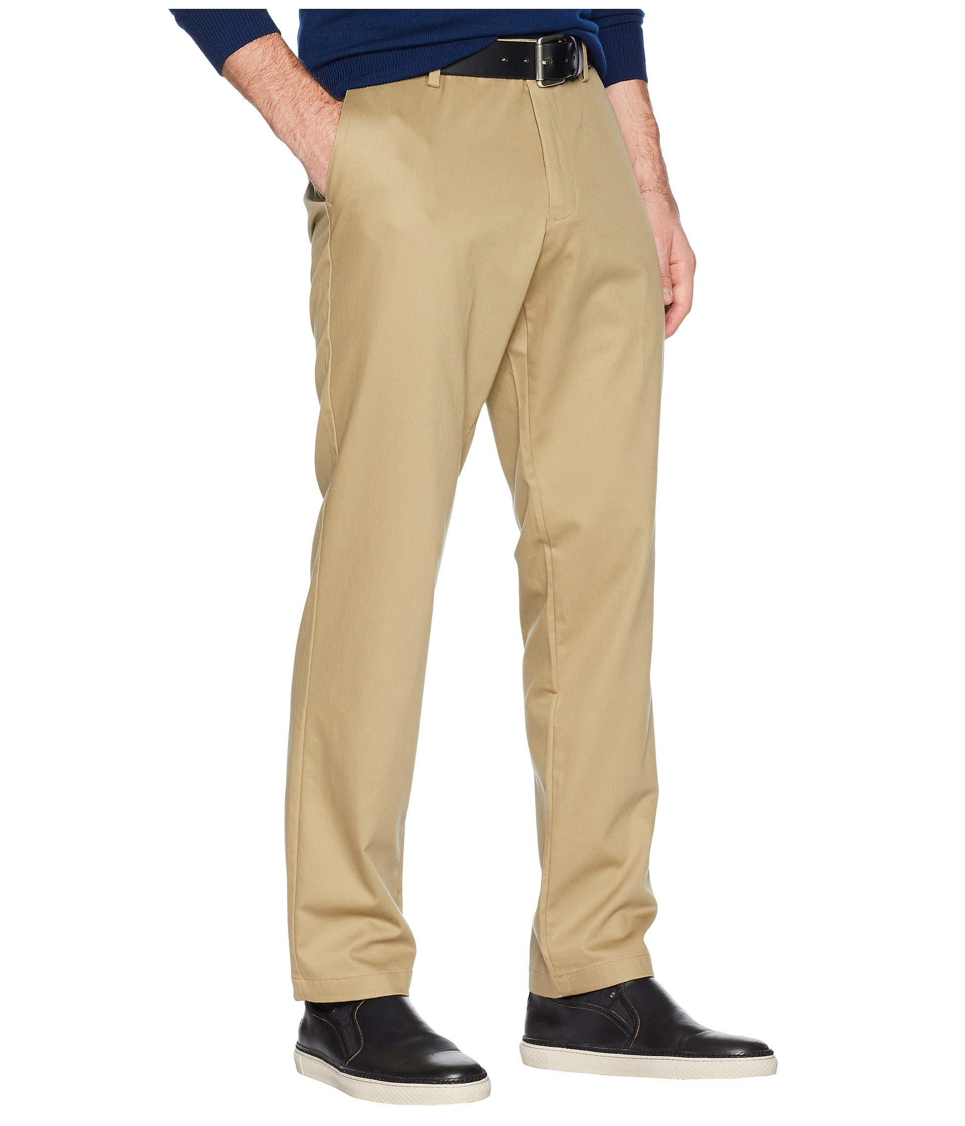 Fit Creaseless Dockers New Khaki Cotton Pants Athletic British Lux Signature Stretch O55wTq6