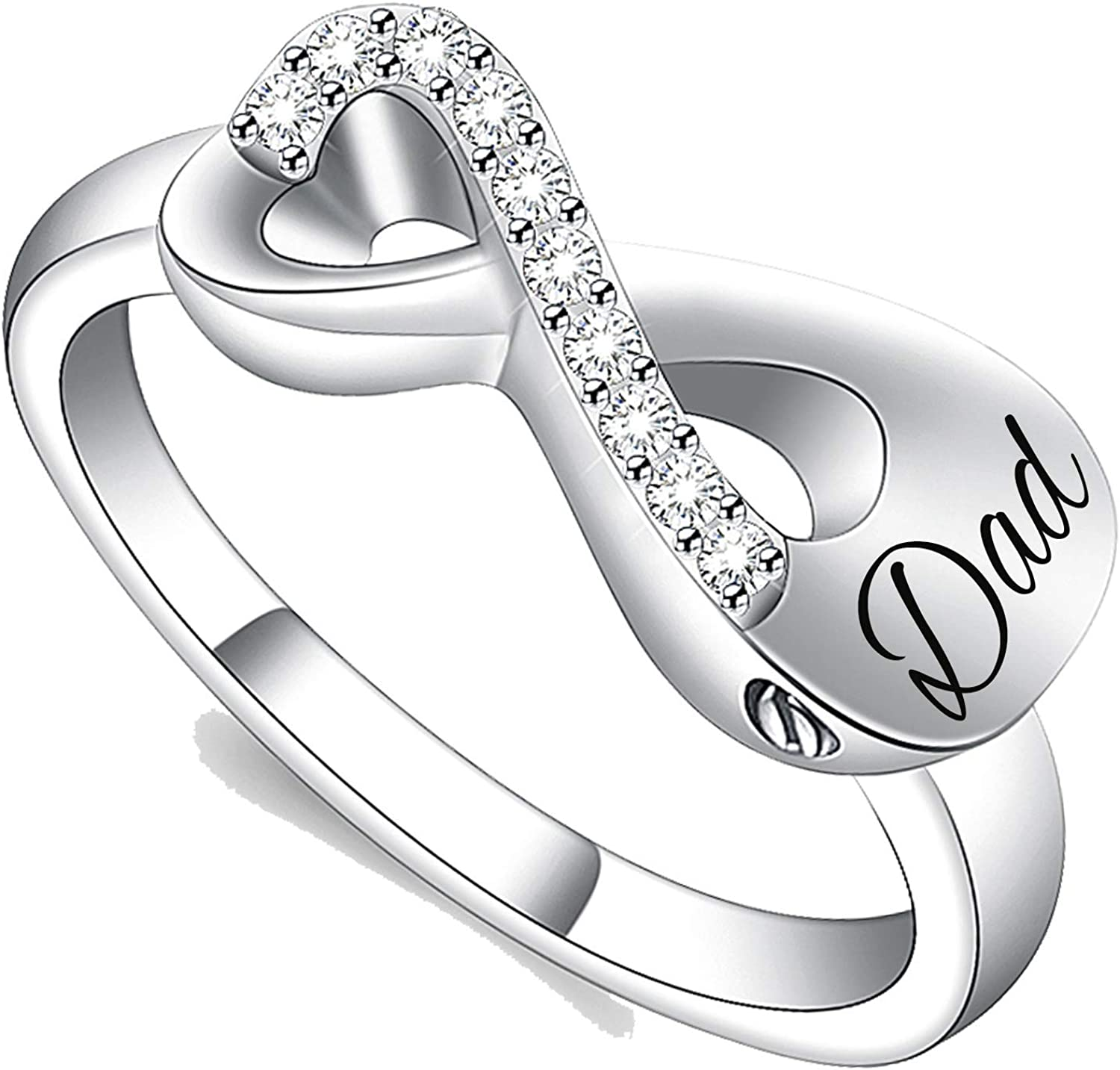 Yinplsmemory Cremation Jewelry Infinity Ring Love Sale Special Special Campaign Price for