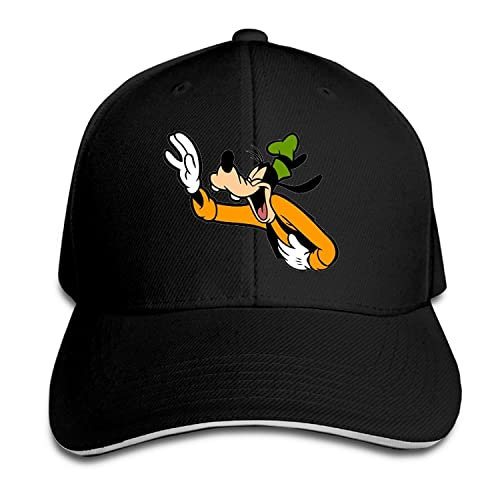 e33b35d3f5f2e Famouse Cartoon Laughing Goofy Snapback Caps Summer Sandwich Cap Cap