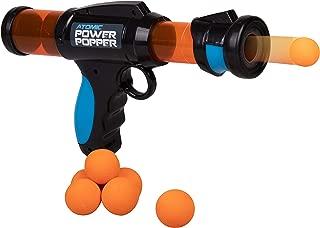 Hog Wild Atomic Power Popper 6X - Rapid Fire Foam Ball Blaster Gun - Shoots Up to 6 Foam Balls - 4+