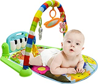 CREPRO Baby Play Mat & Baby Gym Toys, Infant Play Mat and...
