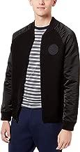 Tommy Hilfiger Men's Baseball Collar Jacket Black Beauty XXL