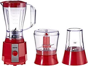 Geepas 3 In 1 Blender, 400W, 1.5L, Multi Color - Gsb9891, Mixed Material