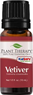 Plant Therapy Vetiver Essential Oil 100% Pure, Undiluted, Natural Aromatherapy, Therapeutic Grade 10 mL (1/3 oz)