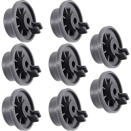 8 x Ariston Dishwasher Lower Bottom Basket Rack Wheel Wheels Large