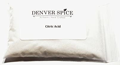 Citric Acid , Dry Fine Granules - 1/2 Pound ( 8 ounces ) - Food Grade