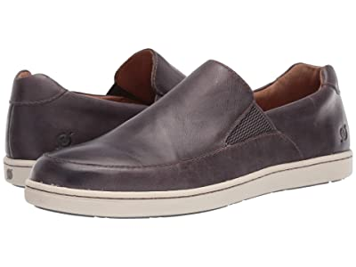 Born Aleksander (Grey Full Grain Leather) Men