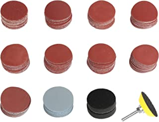 Polishing CHENGDE 100Pcs 2 inch Sanding Discs Pads,Hook and Loop 80//100//180//240//600//800//1000//1200//2000//3000 Grit Sandpaper for Grinding